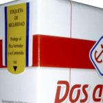 Etiqueta Pico Vertedor Funciona como etiqueta de seguridad para envases con pico vertedor.