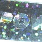 Etiqueta con Holograma de seguridad impreso sobre sustrato holográfico